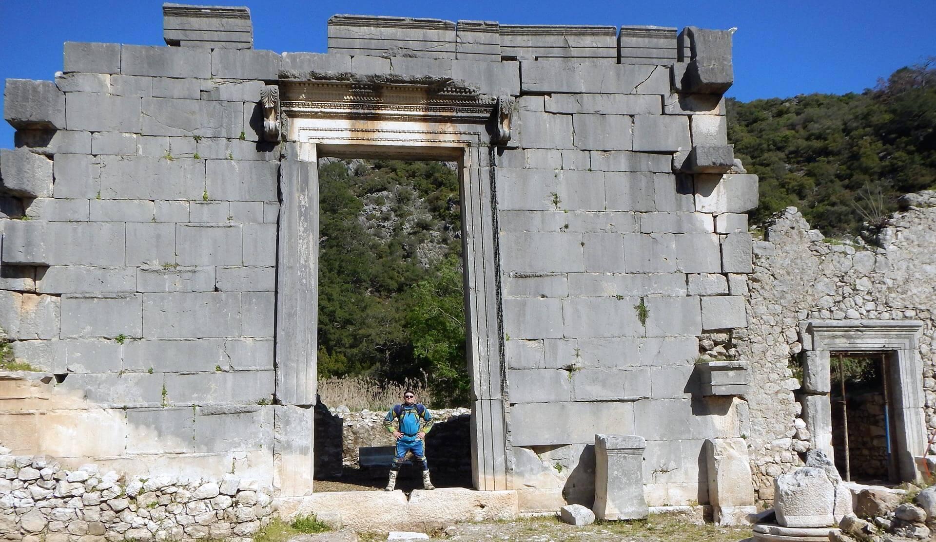 Olympos antien city
