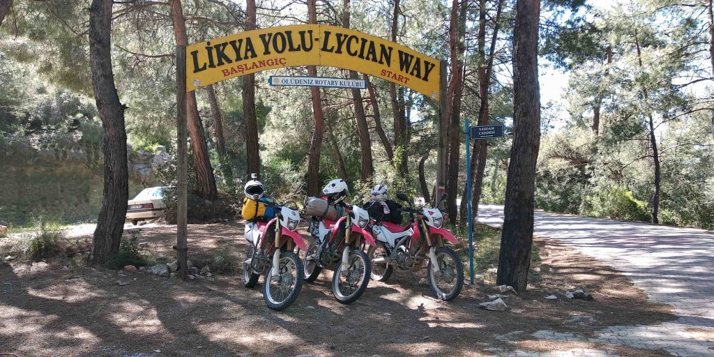 The Lycian Way start point