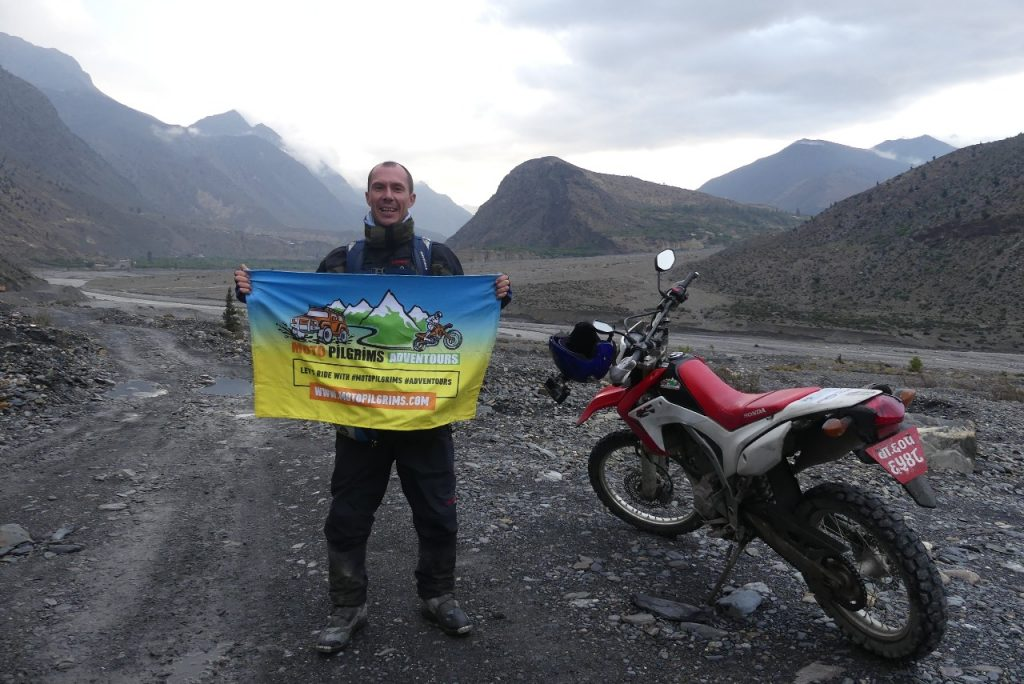 Moto Pilgrims Adventours expedition to Upper Mustang