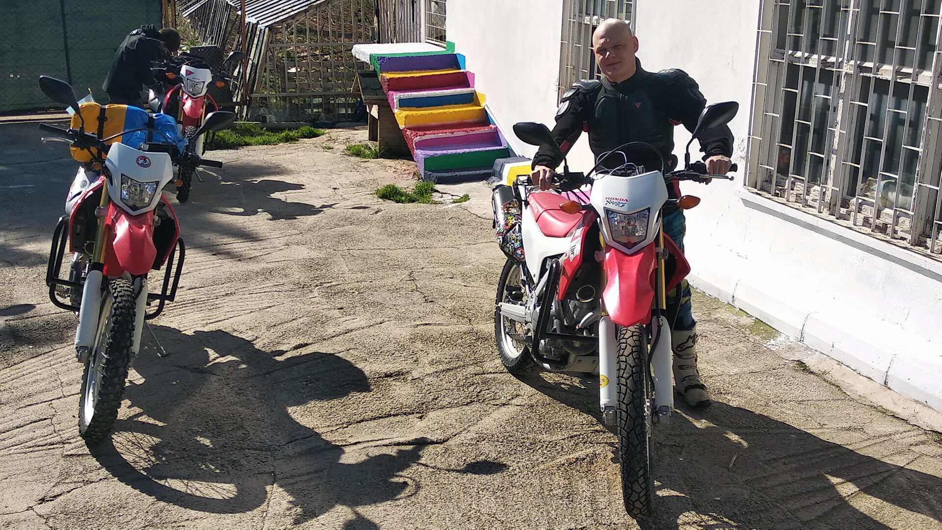 Moto Pilgrims Rental Point